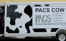 PACS COW Mobile Food Pantry